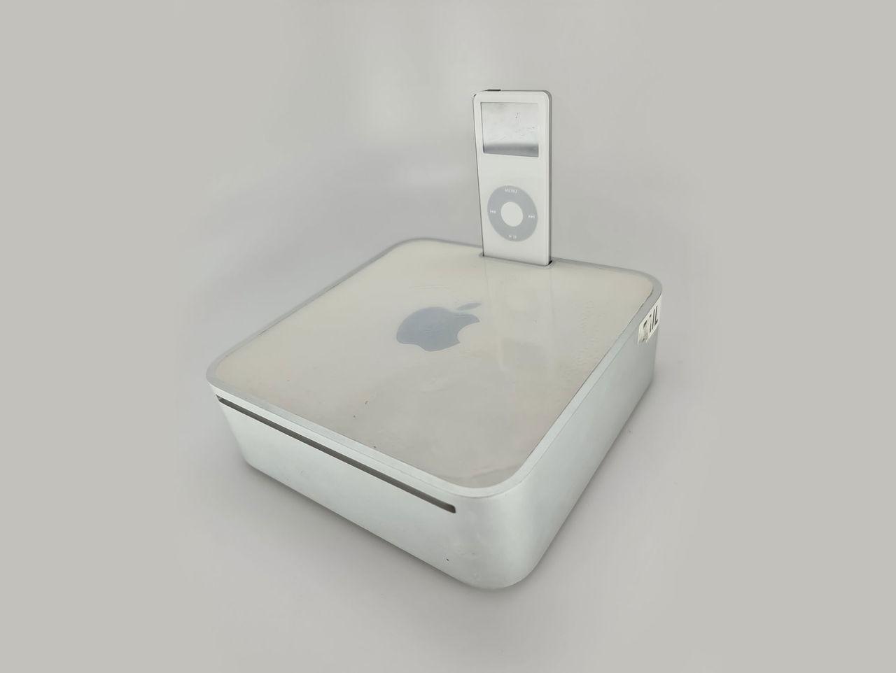 Apple funderade på att släppa Mac mini med iPod-hållare