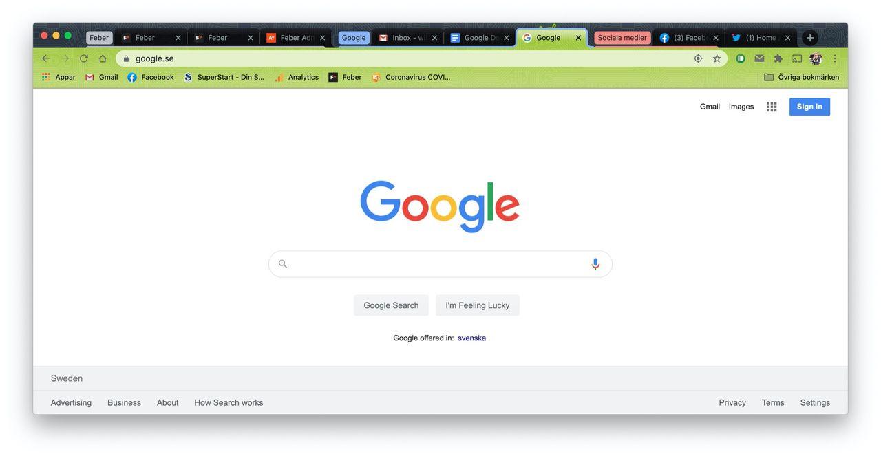 Nu har Chrome 85 börjat rulla ut