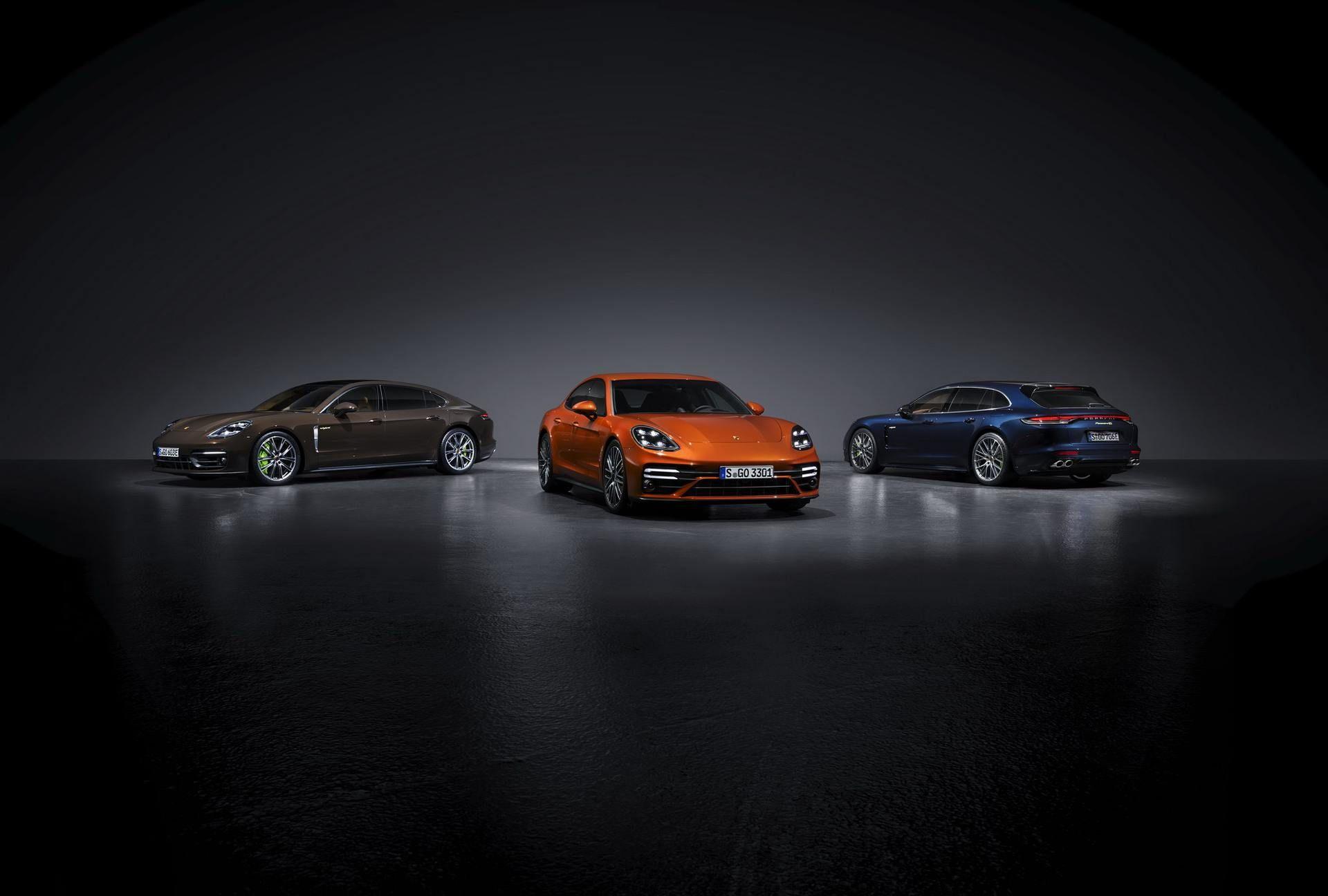 Porsche uppdaterar Panamera