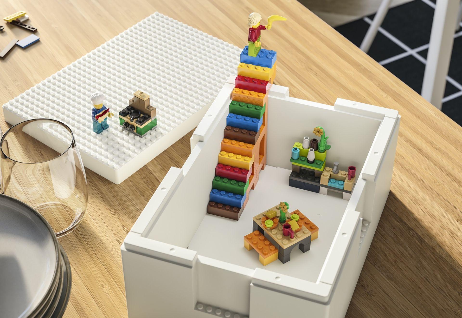 IKEA och LEGO presenterar Bygglek