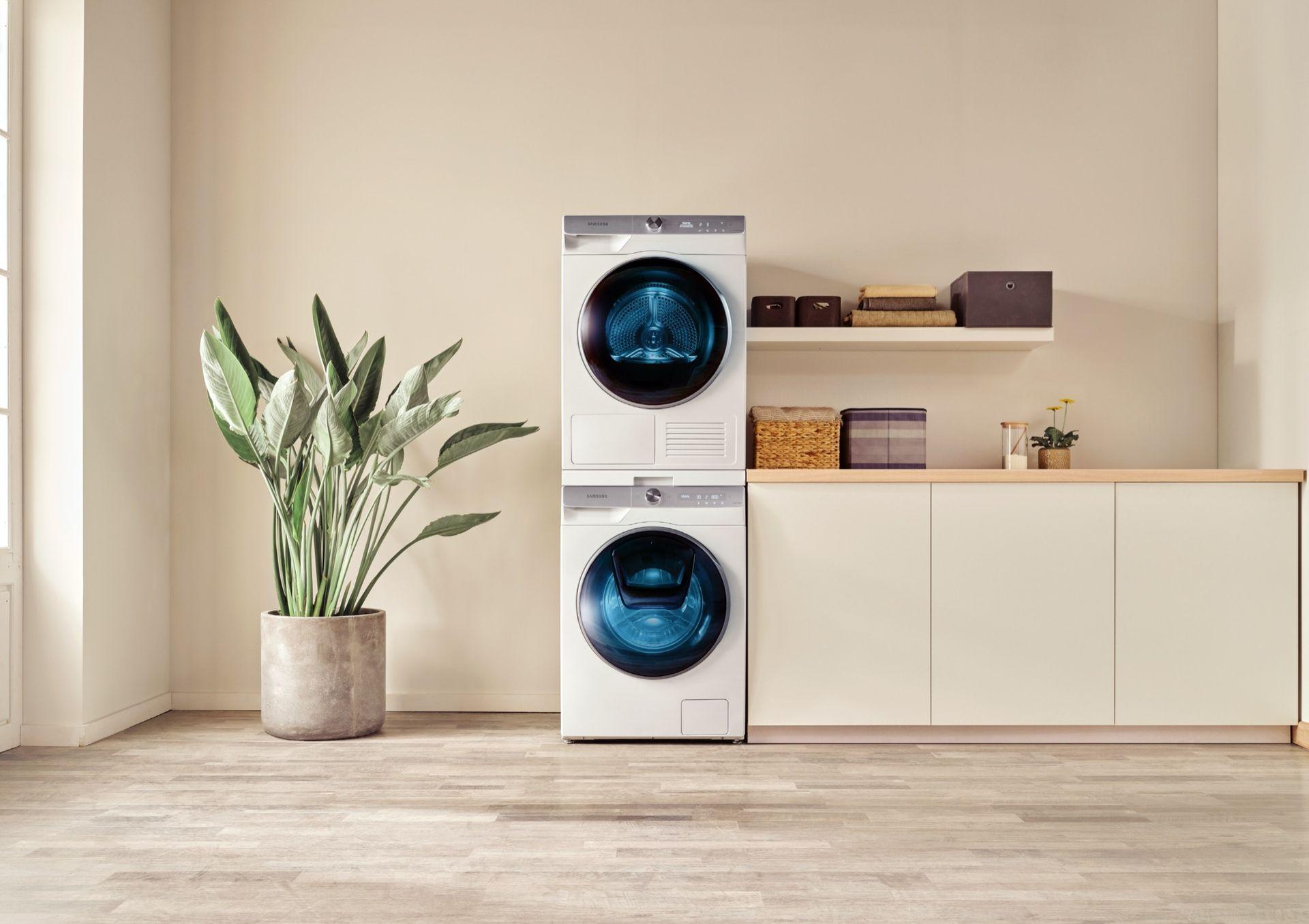Samsungs smarta tvättmaskin lär sig hur din tvätt ska tvättas