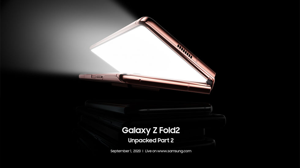 Samsung kör ett Galaxy Unpacked-event nästa vecka med