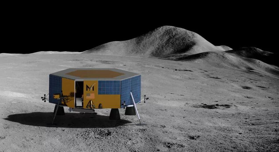 SpaceX ska åka till månen