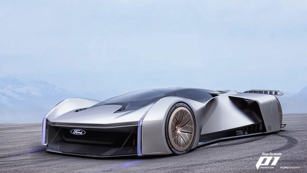 Ford visar upp konceptbilen Project P1