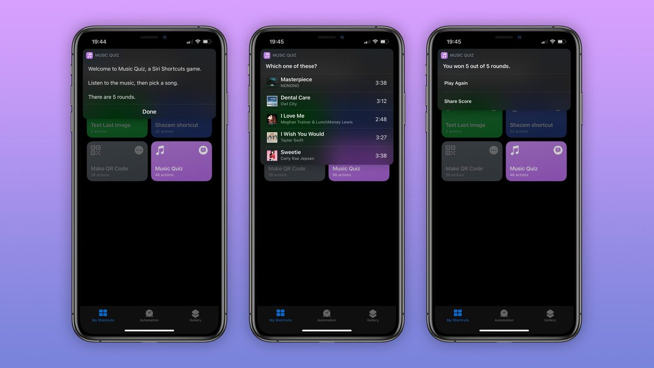 Music Quiz kommer tillbaka i iOS 14
