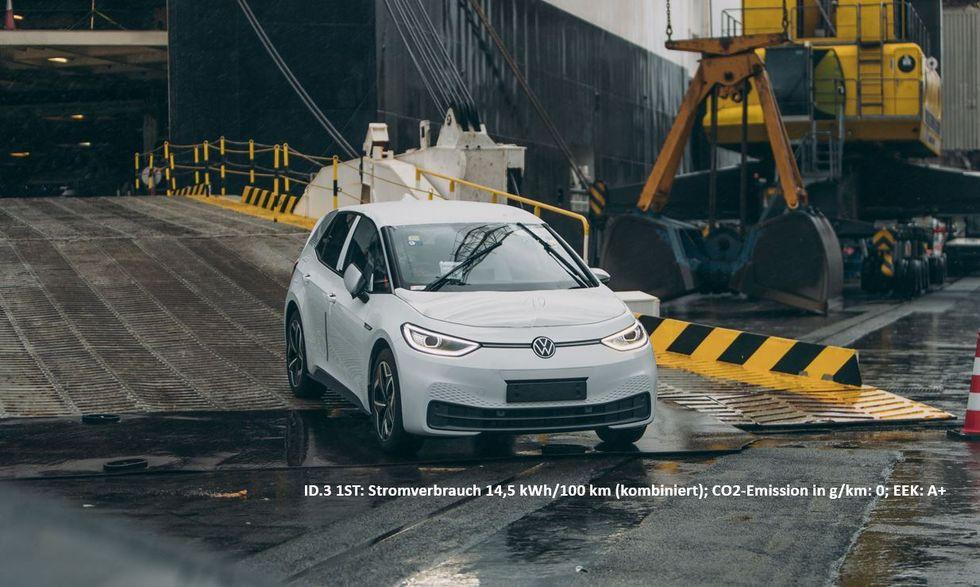 Volkswagen ID.3 börjar levereras