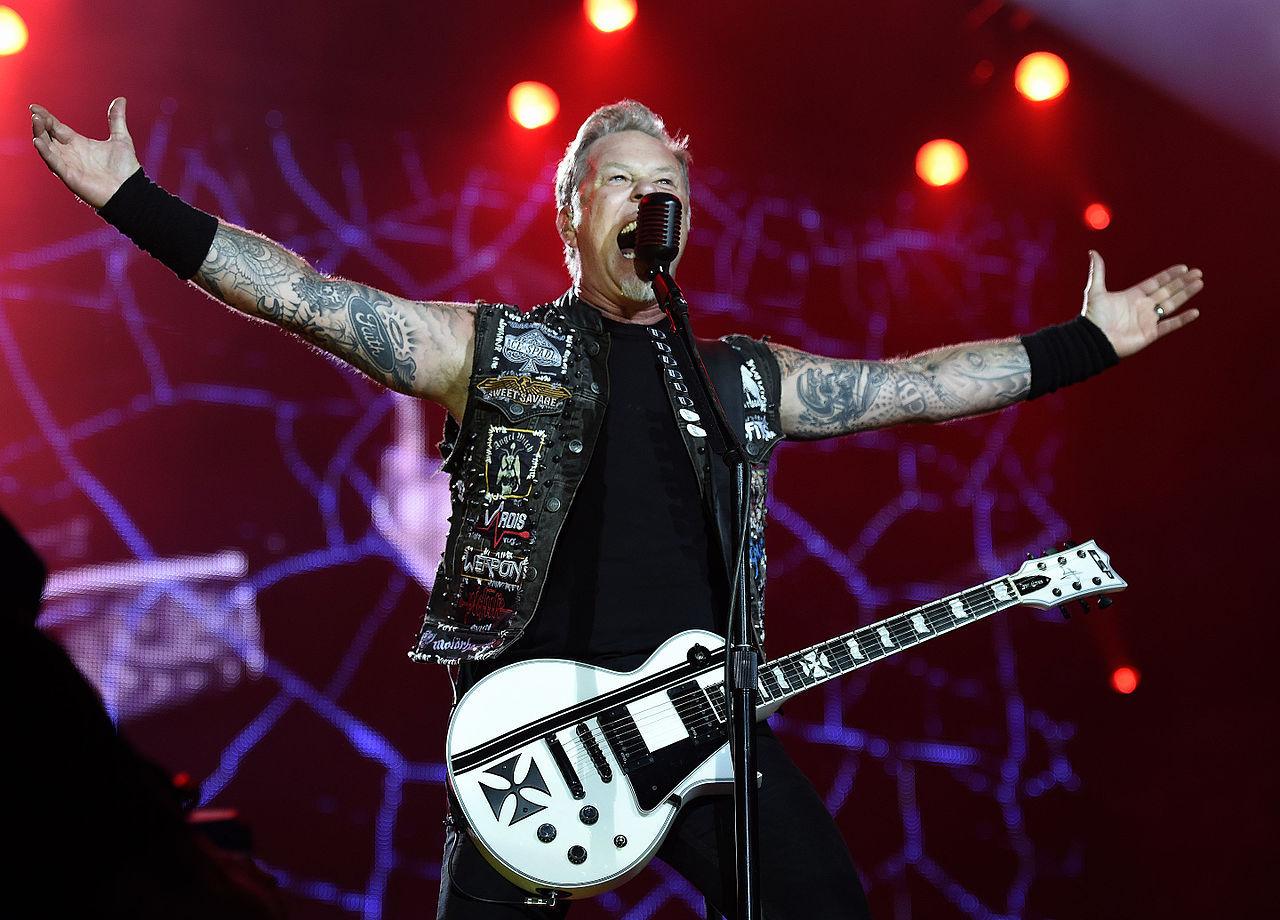 Ny ormart namnges efter Metallicas frontman James Hetfield