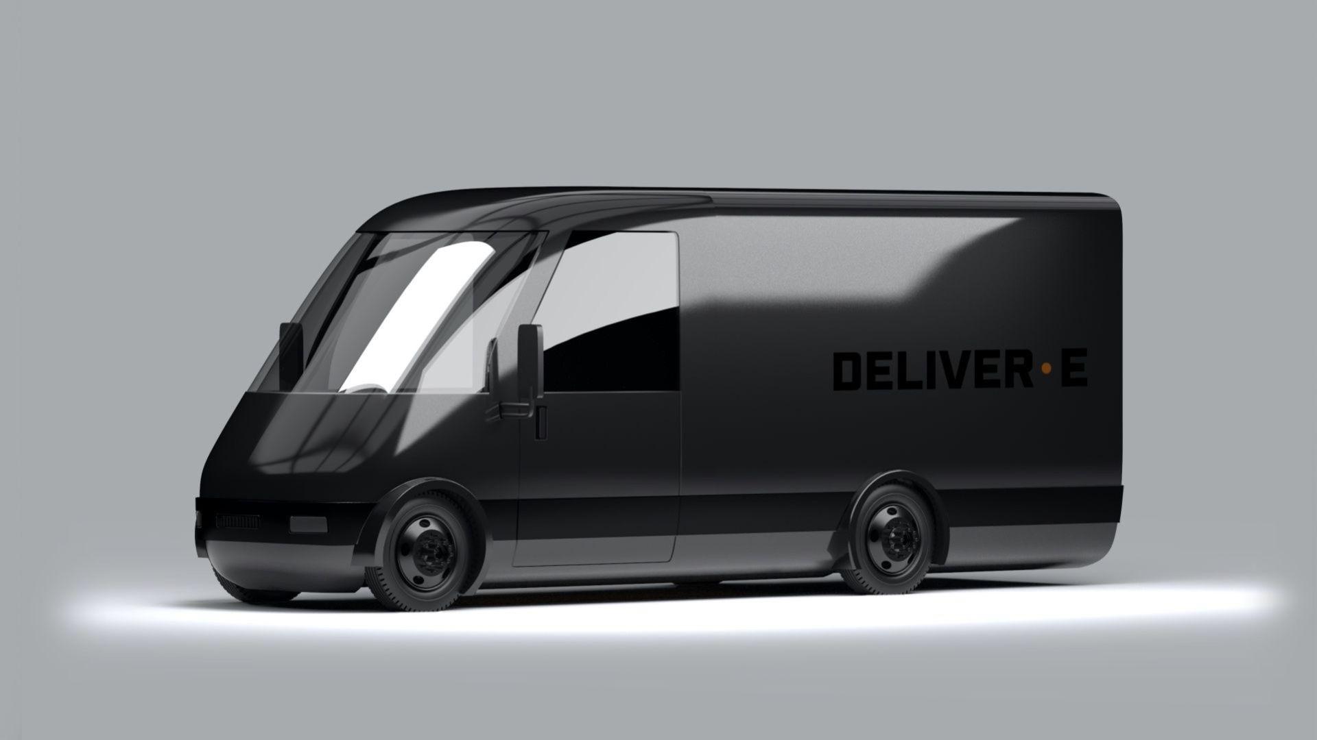 Bollinger Motors visar transportbilen Deliver-E