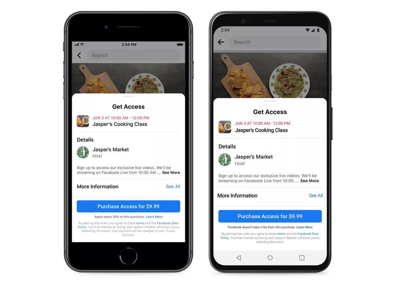 Facebook får inte upplysa om Apples App Store-avgifter