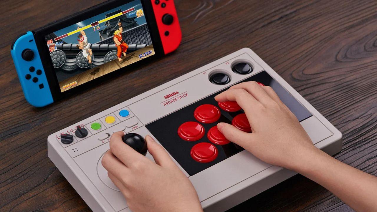 8BitDo släpper arkadkontroll till Nintendo Switch och PC