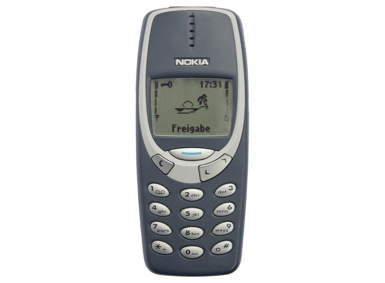 Tut i luren - 20 år sedan Nokia 3310 släpptes