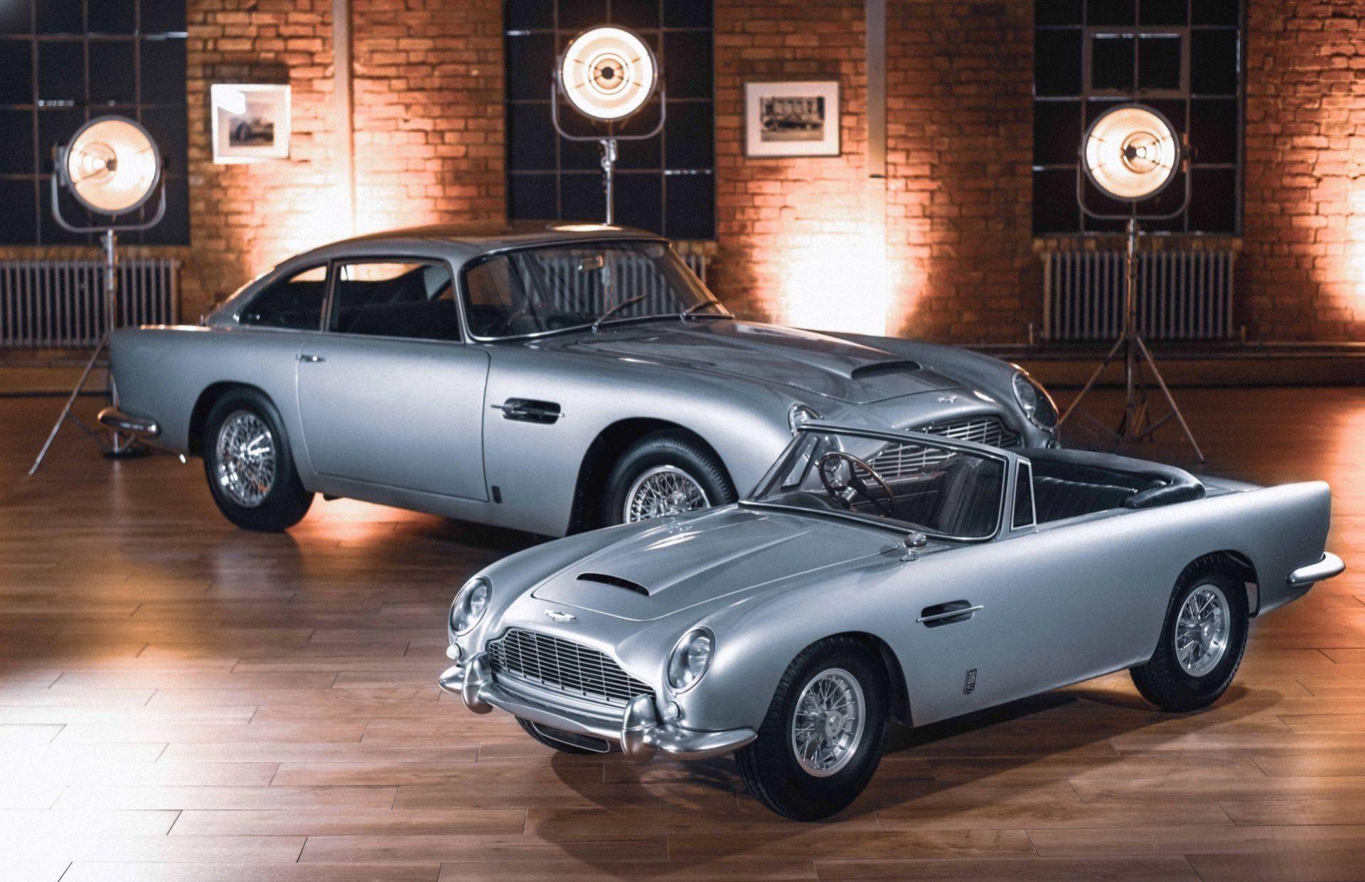 Aston Martin presenterar DB5 Junior