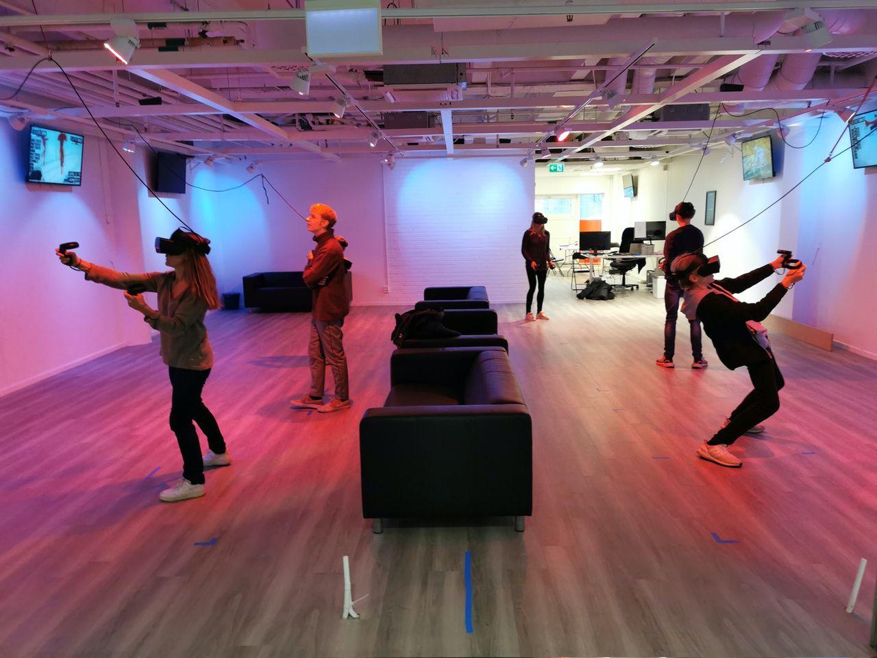 Stockholm VR Center börjar med träningspass
