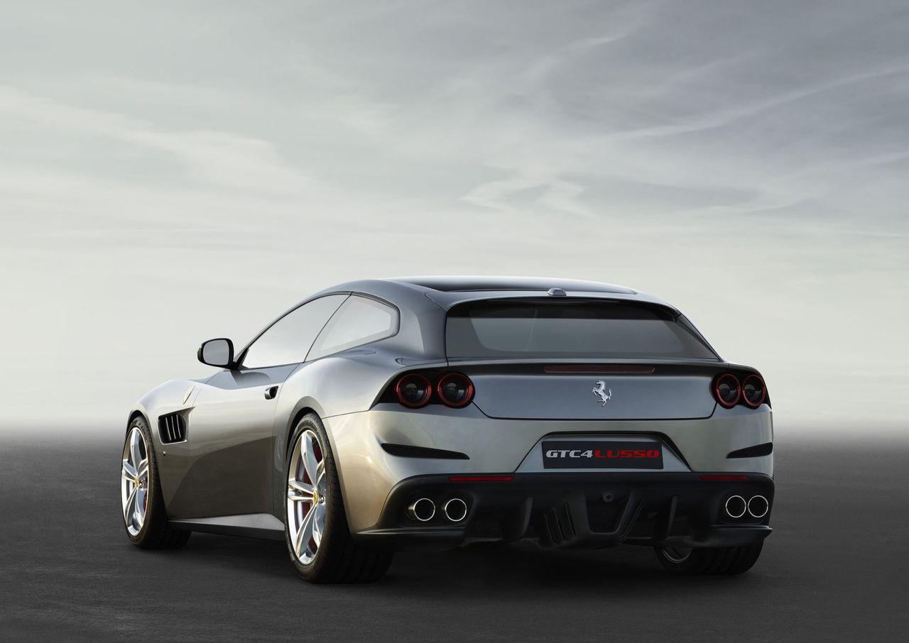 Ferrari slutar tillverka GTC4Lusso och GTC4Lusso T