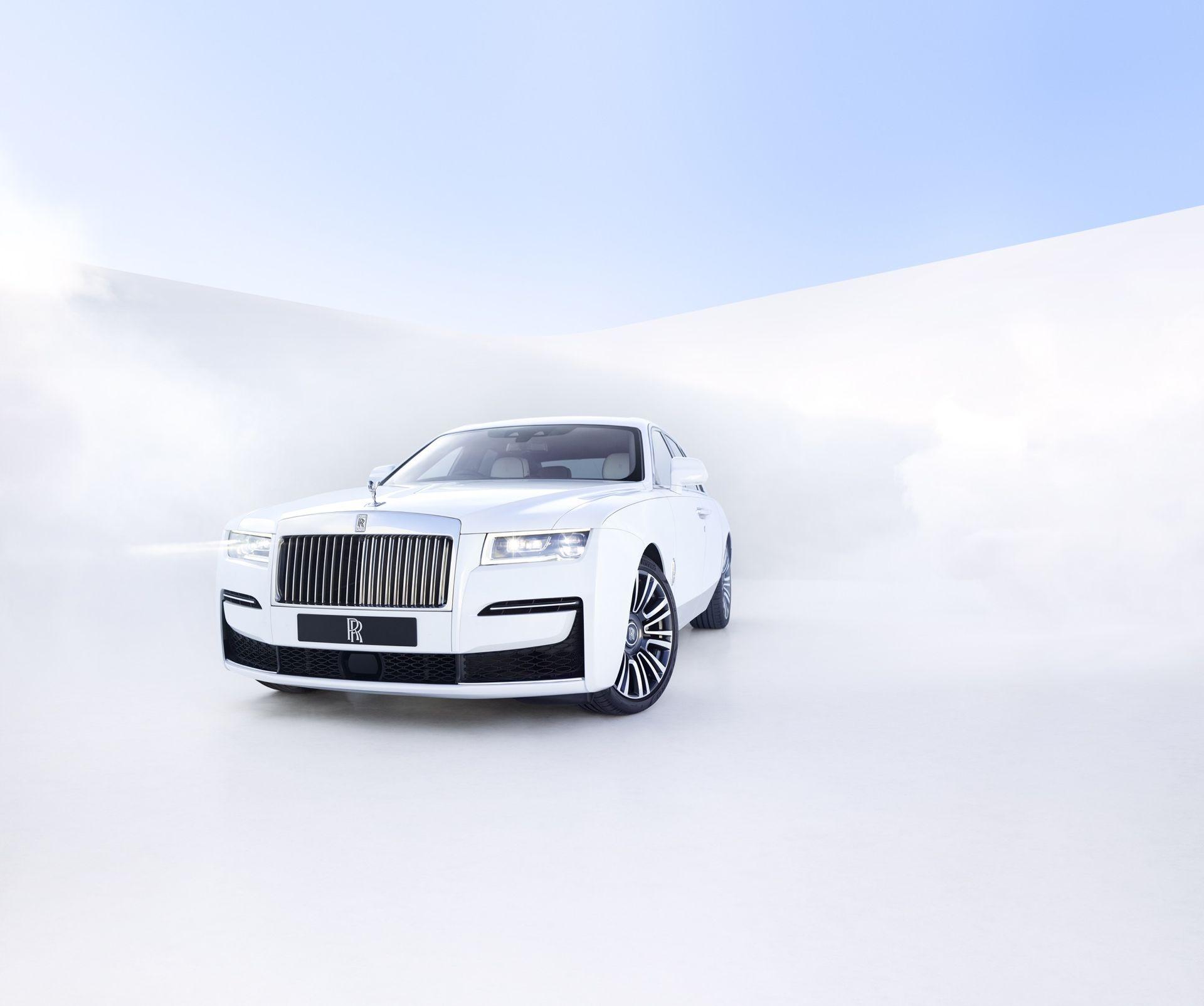 Rolls-Royce presenterar nya Ghost