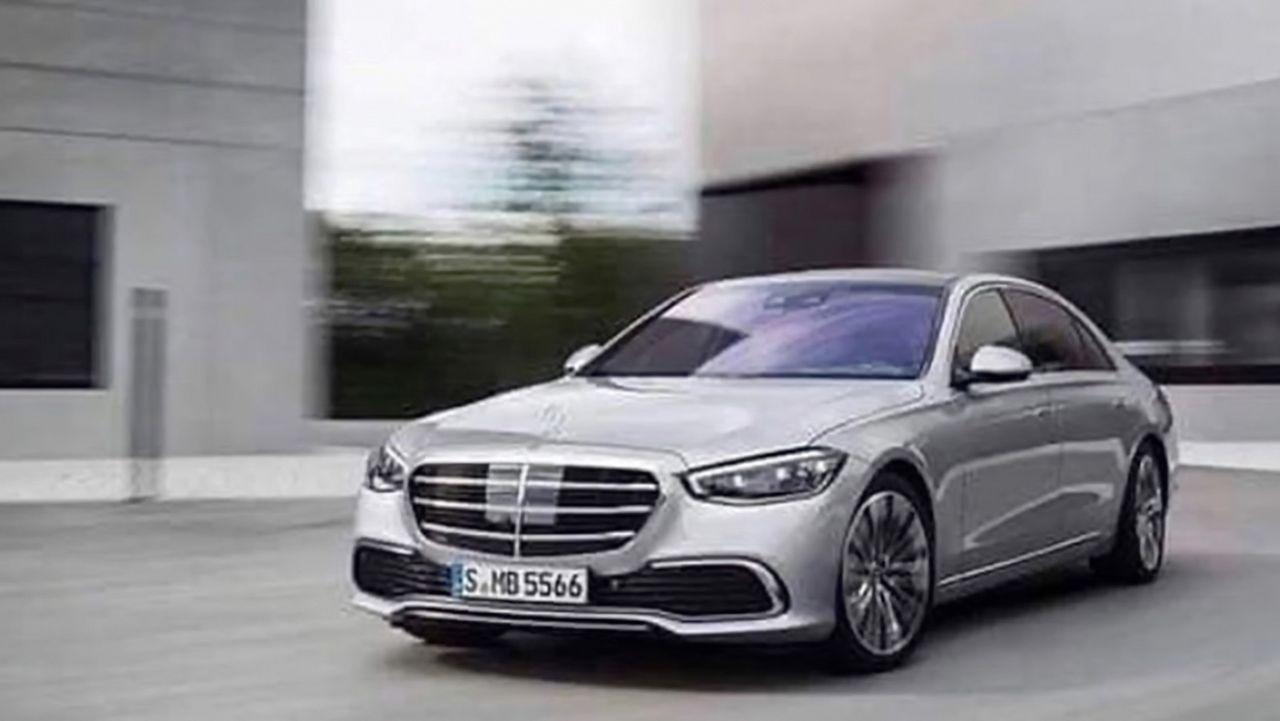 Nya Mercedes S-Klass läcker ut