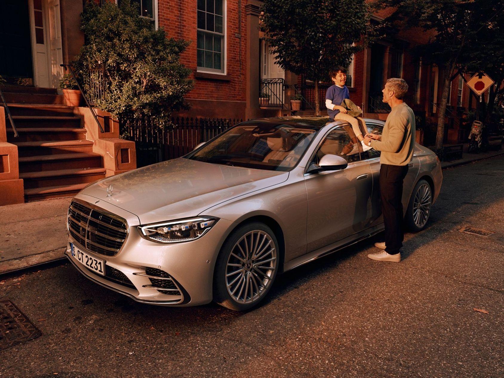 Det här är nya Mercedes S-Klass