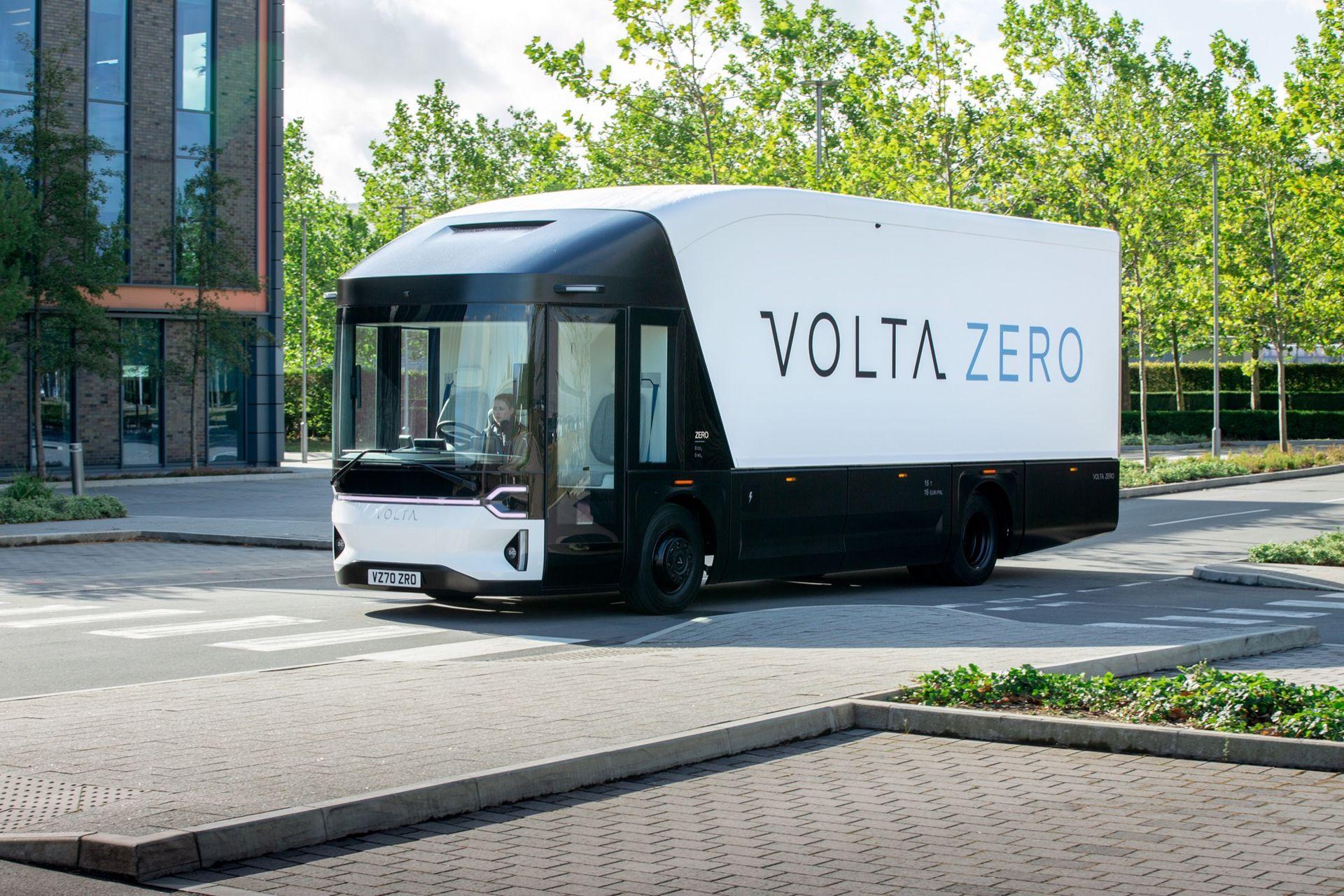Volta Trucks presenterar eldrivna lastbilen Zero