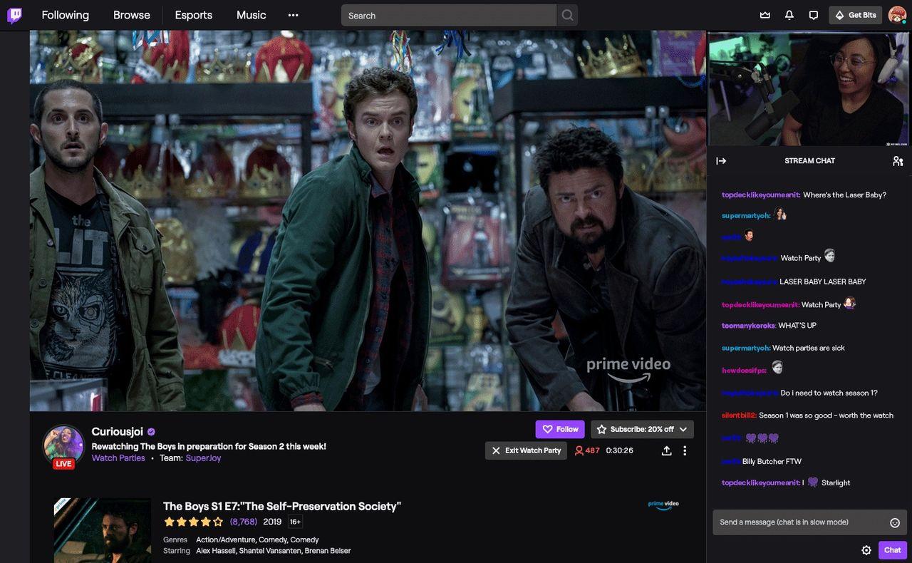 Twitch lanseras Watch Parties globalt