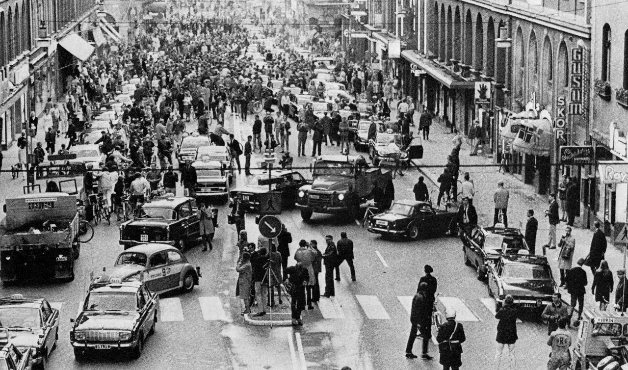 Tut i luren! Idag är det 53 år sedan vi gick över till högertrafik