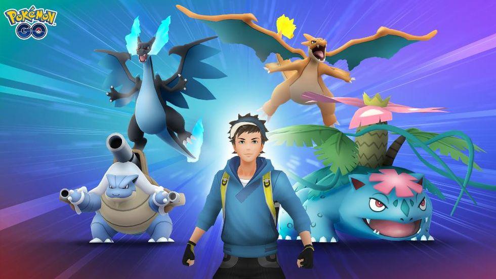 Mega evolutions kommer till Pokémon Go