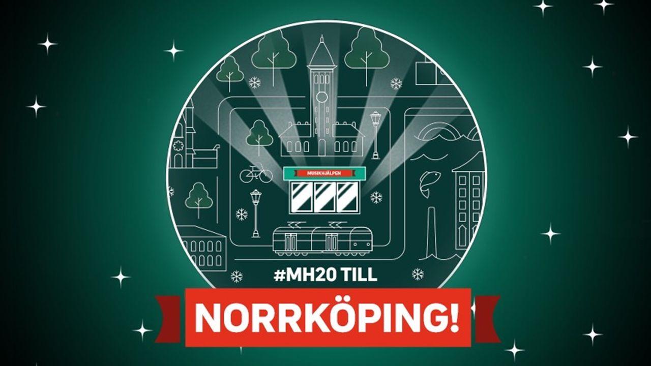 Årets Musikhjälpen hålls i Norrköping