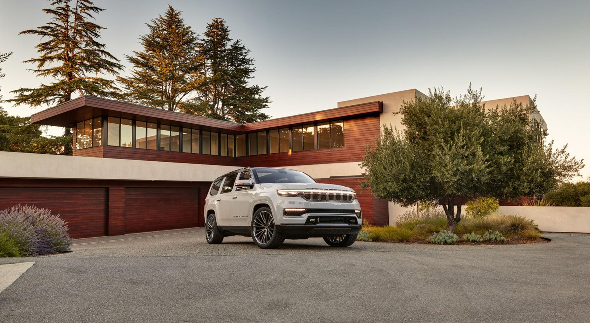 Jeep presenterar Grand Wagoneer och Wrangler 4xe