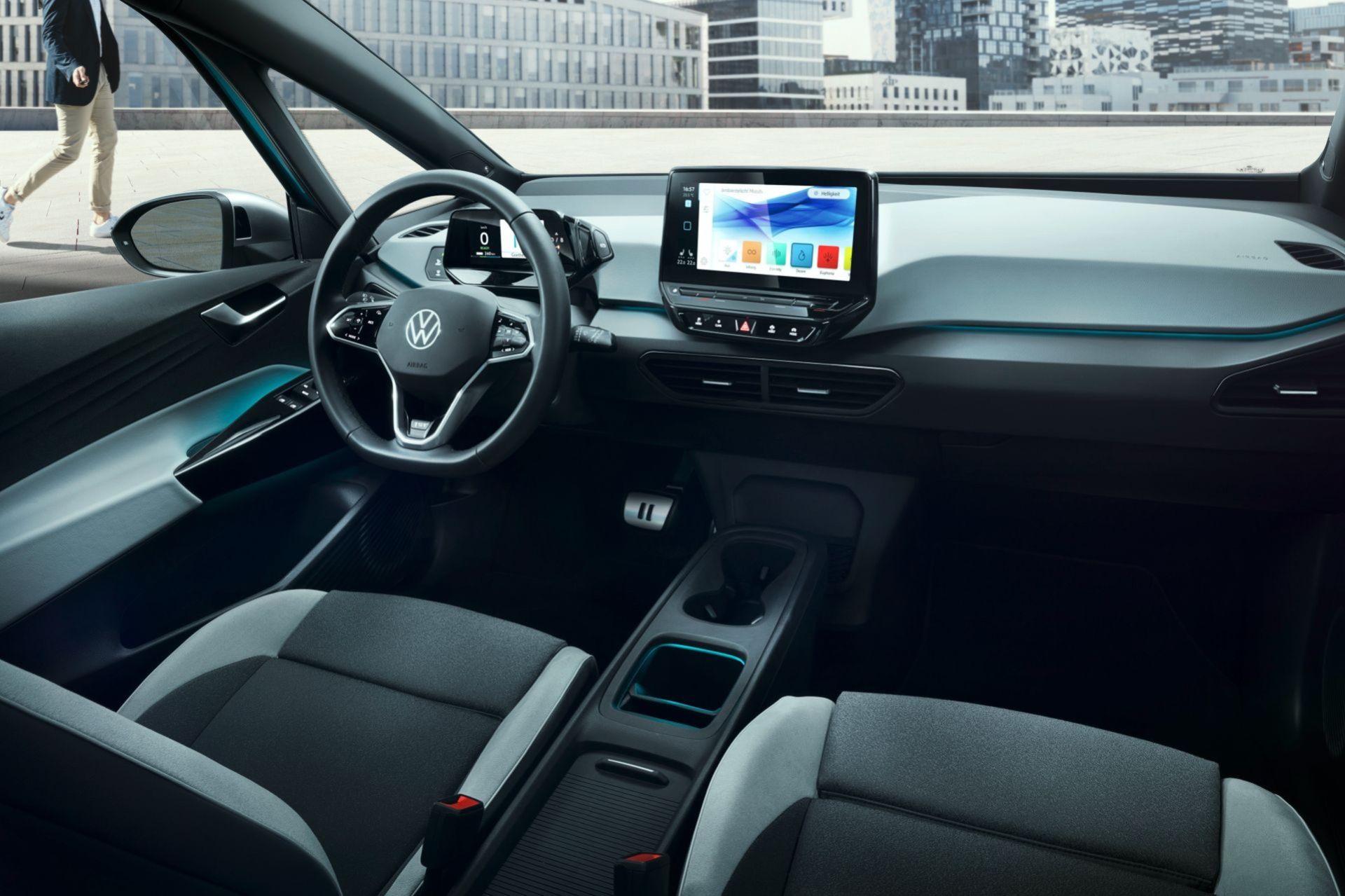 Så här ser Volkswagen ID.4 ut på insidan