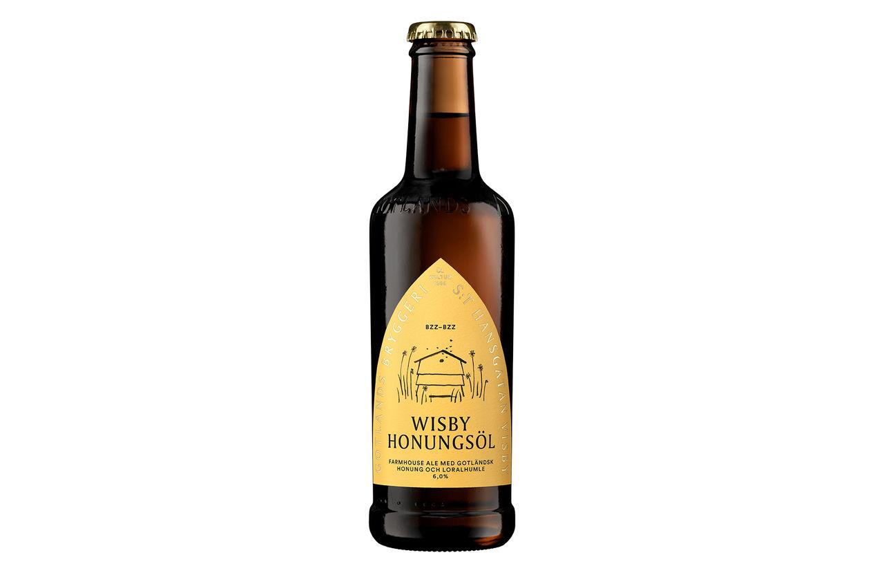 Gotlands Bryggeri presenterar Honungsöl