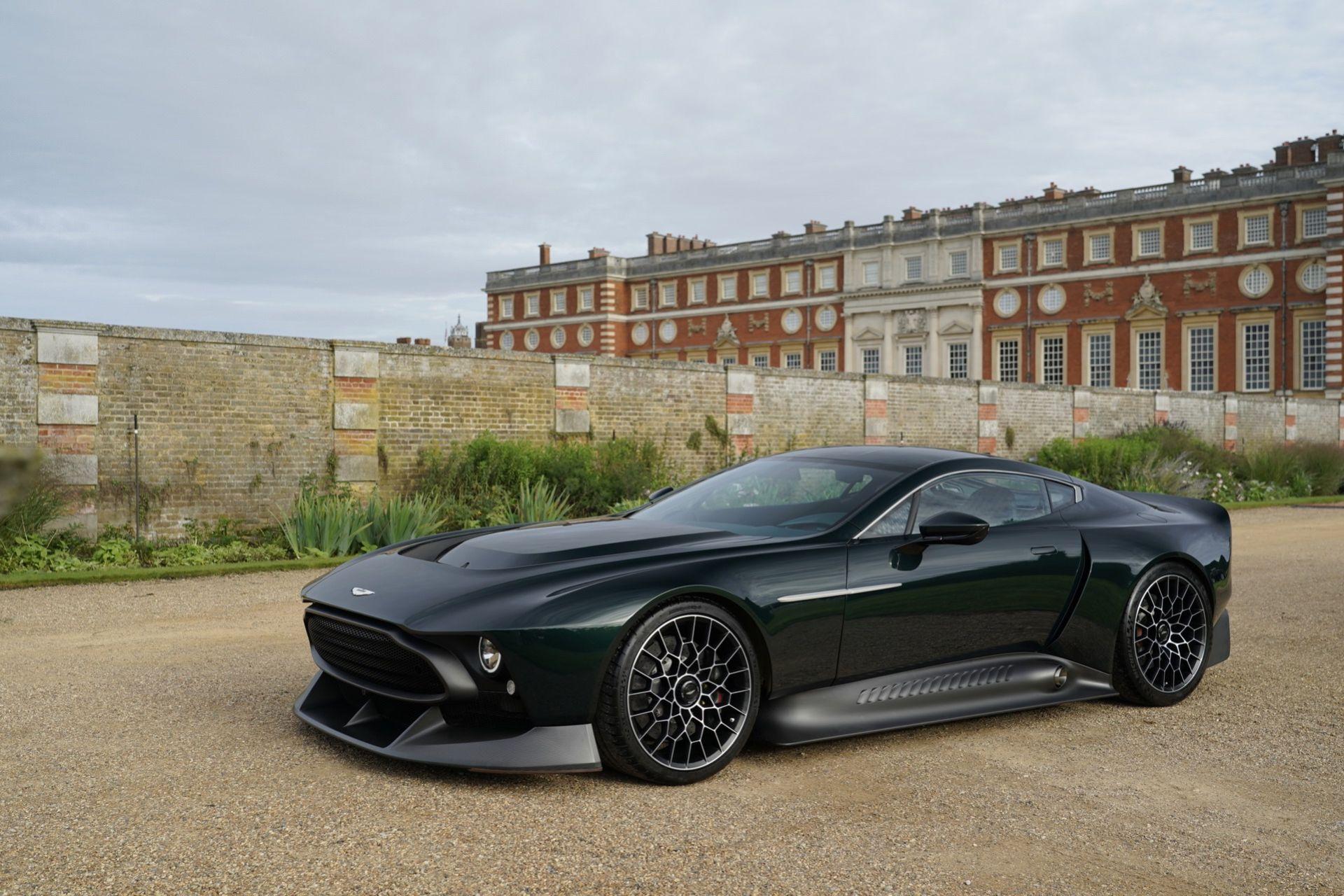 Aston Martins Q-avdelning presenterar Victor