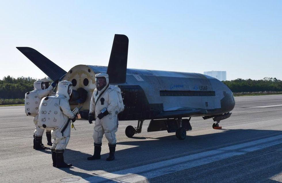 Kina uppges ha testat hemligt rymdflygplan