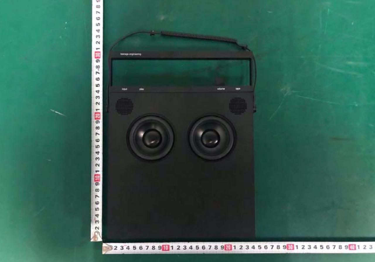 Teenage Engineering ser ut att ha en ny högtalare på gång