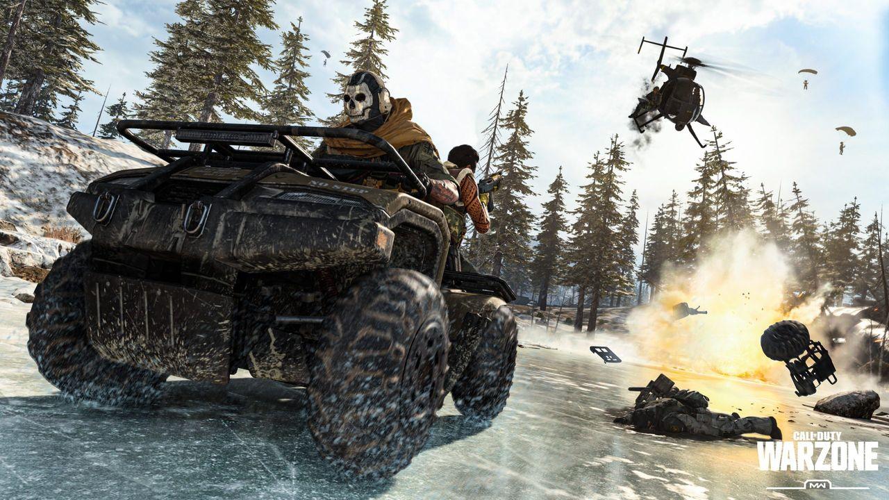 Fordon tillbaka i Call of Duty: Warzone