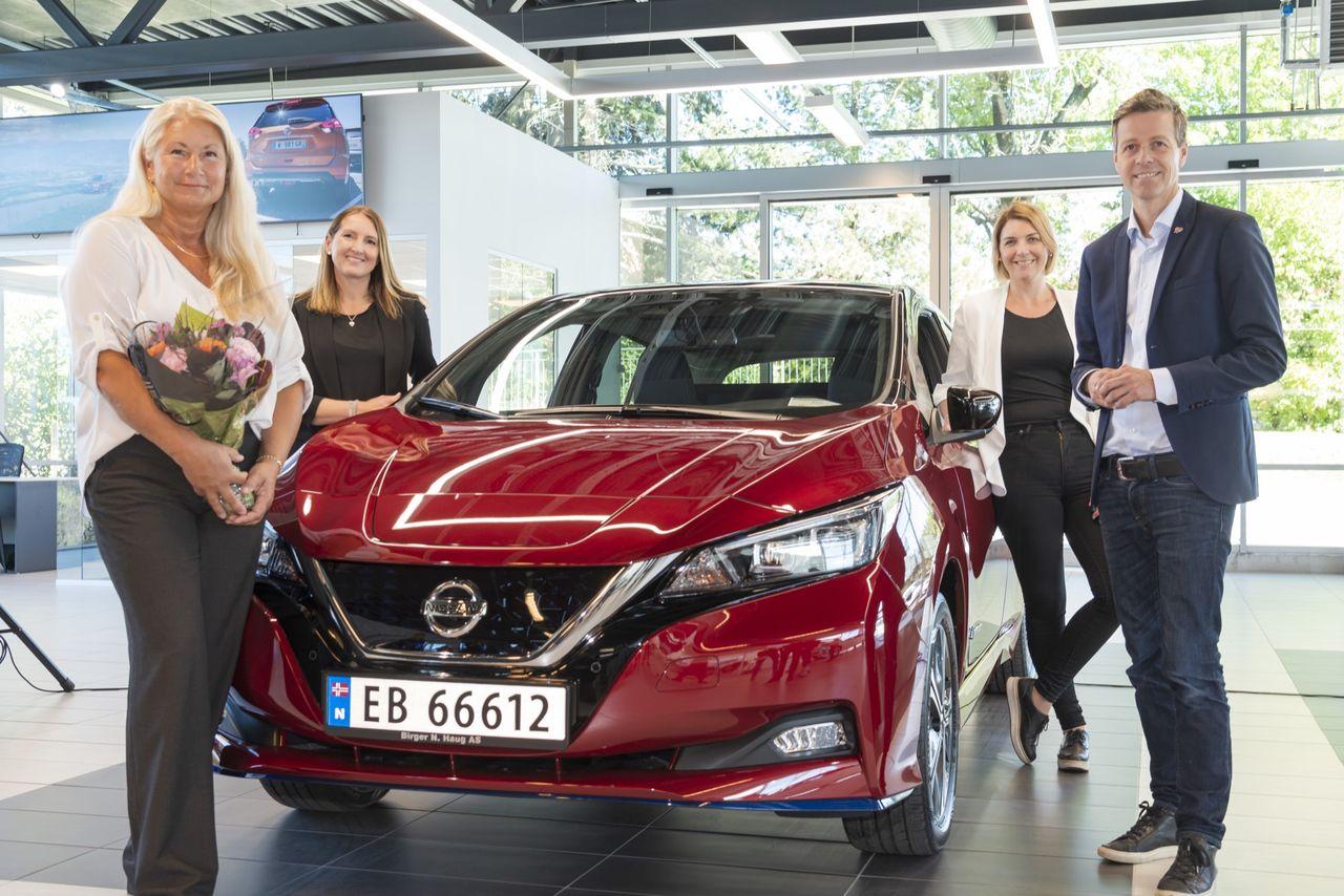 Nissan har nu tillverkat en halv miljon Leaf