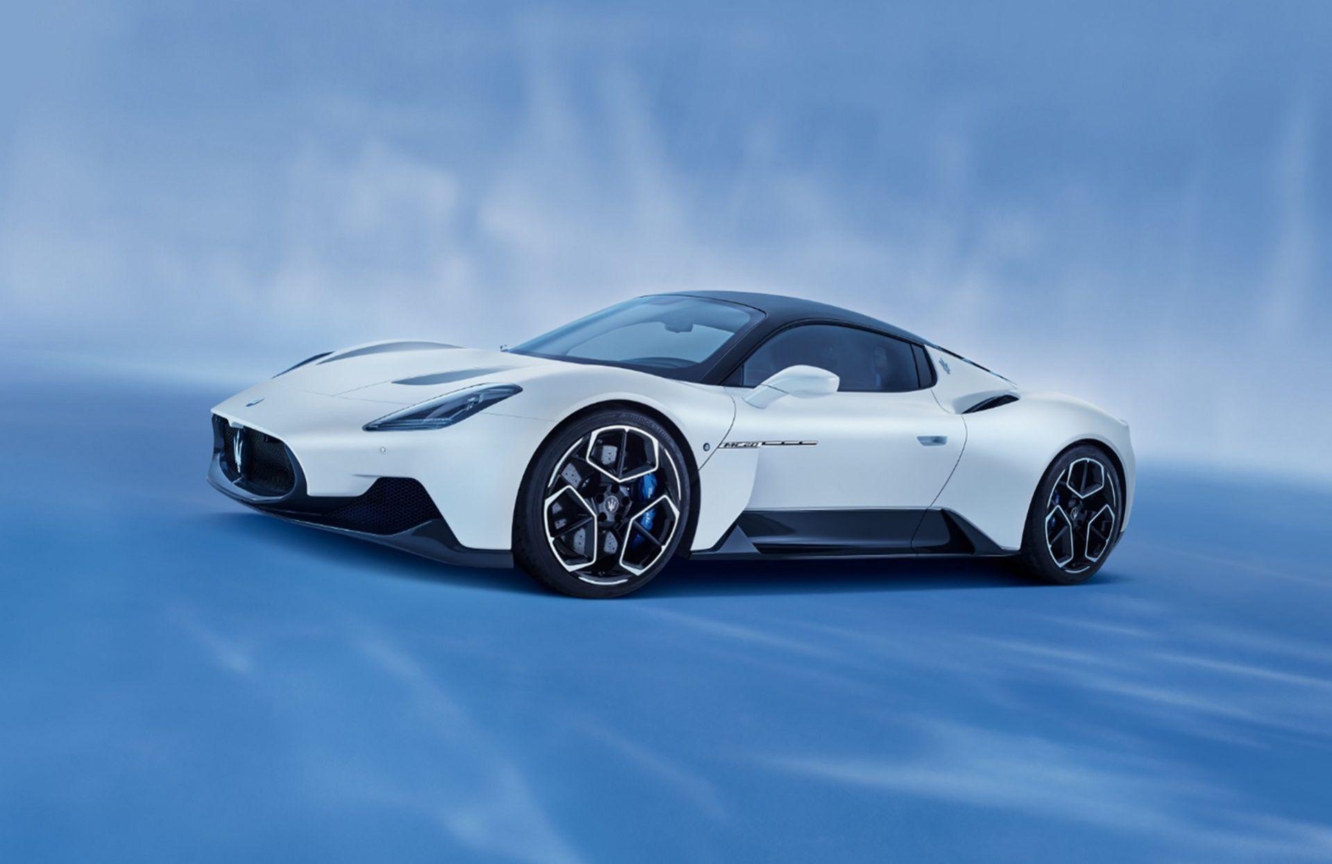 Maserati presenterar sportbilen MC20
