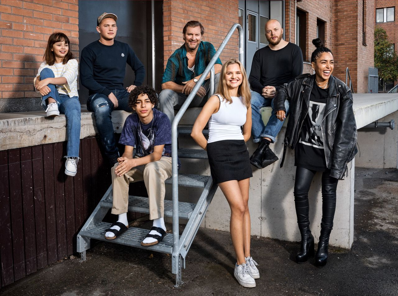 Skådespelarna i nya Vinterviken