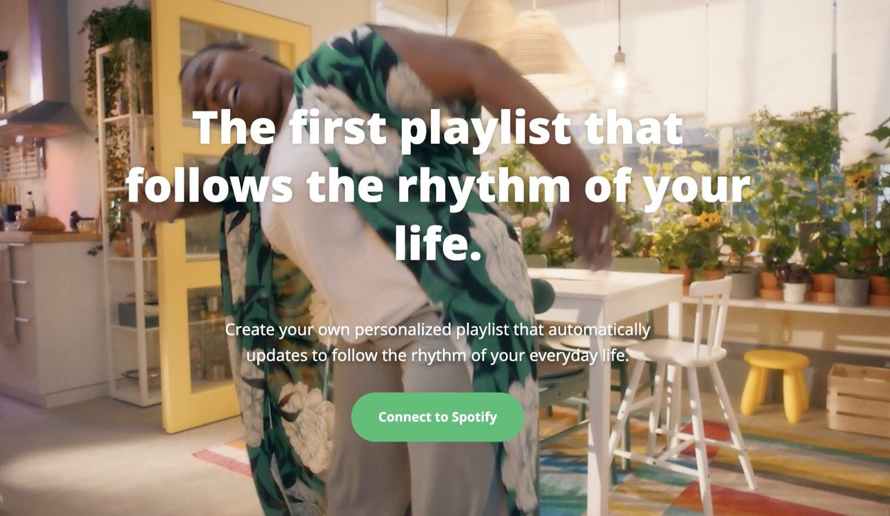IKEA inleder ett samarbete med Spotify