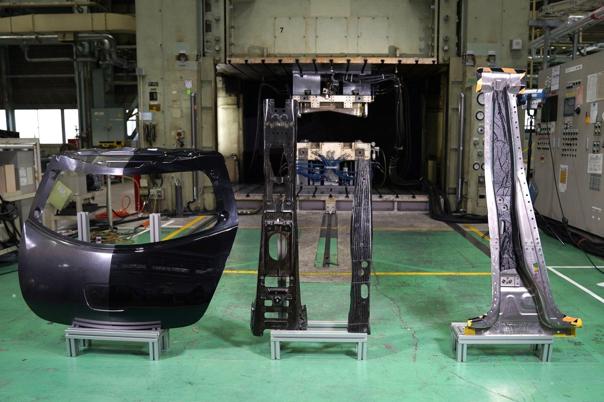 Nissan har gjort genombrott inom kolfibertillverkning