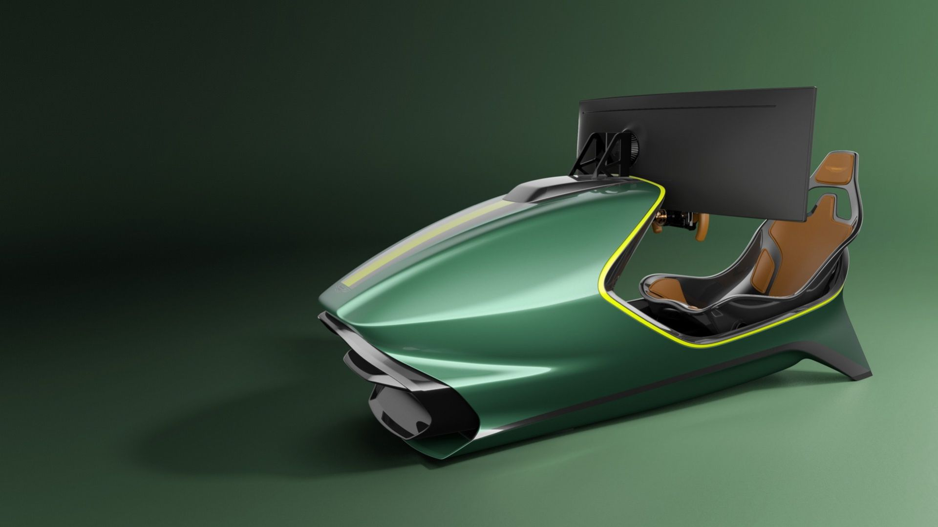 Aston Martin presenterar rejäl racing-simulator