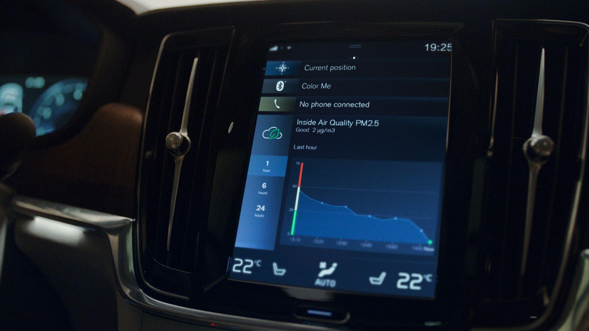 Volvos bilar har världsunik teknik för luftkvalitet