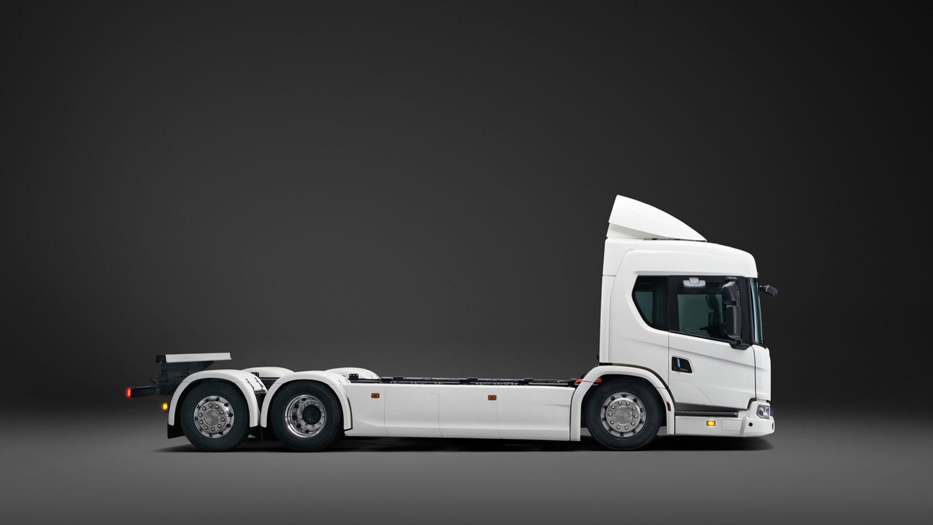 Scania presenterar helt eldriven lastbil
