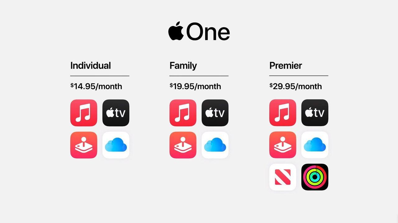 Apple presenterar Apple One
