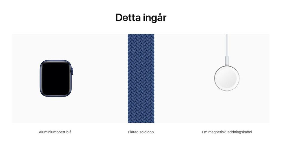 Ingen strömadapter med nya Apple Watch