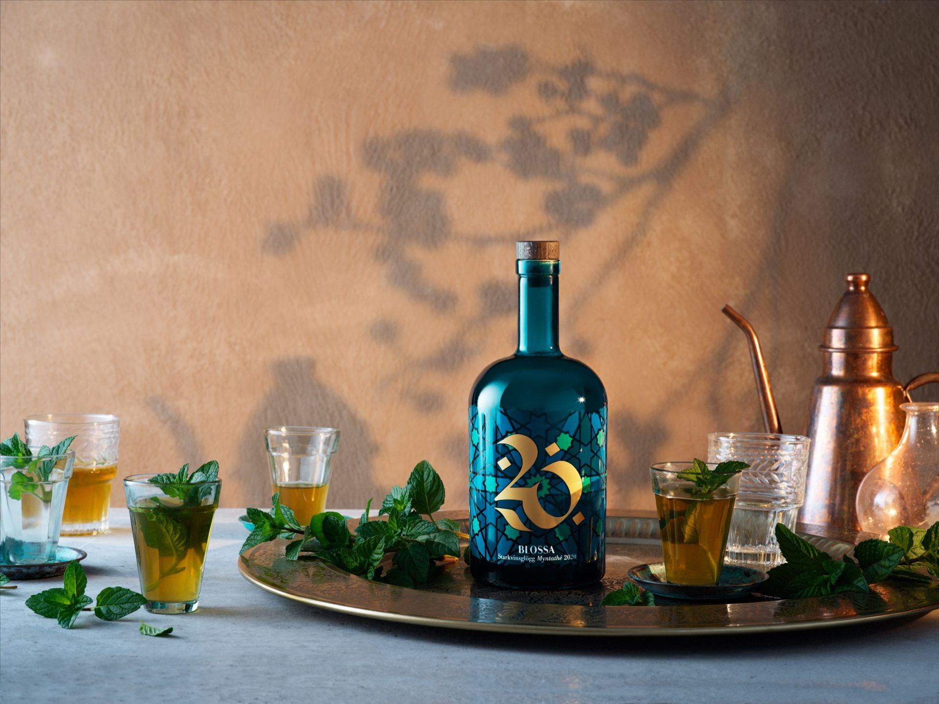 Årets Blossa-glögg smakar mynta och grönt te