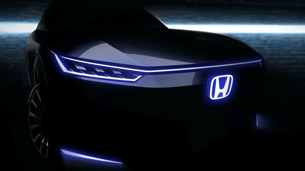 Bild på Hondas nya eldrivna konceptbil