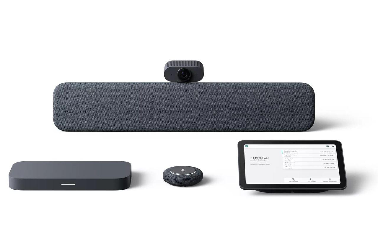 Google visar upp hårdvara för videokonferenser