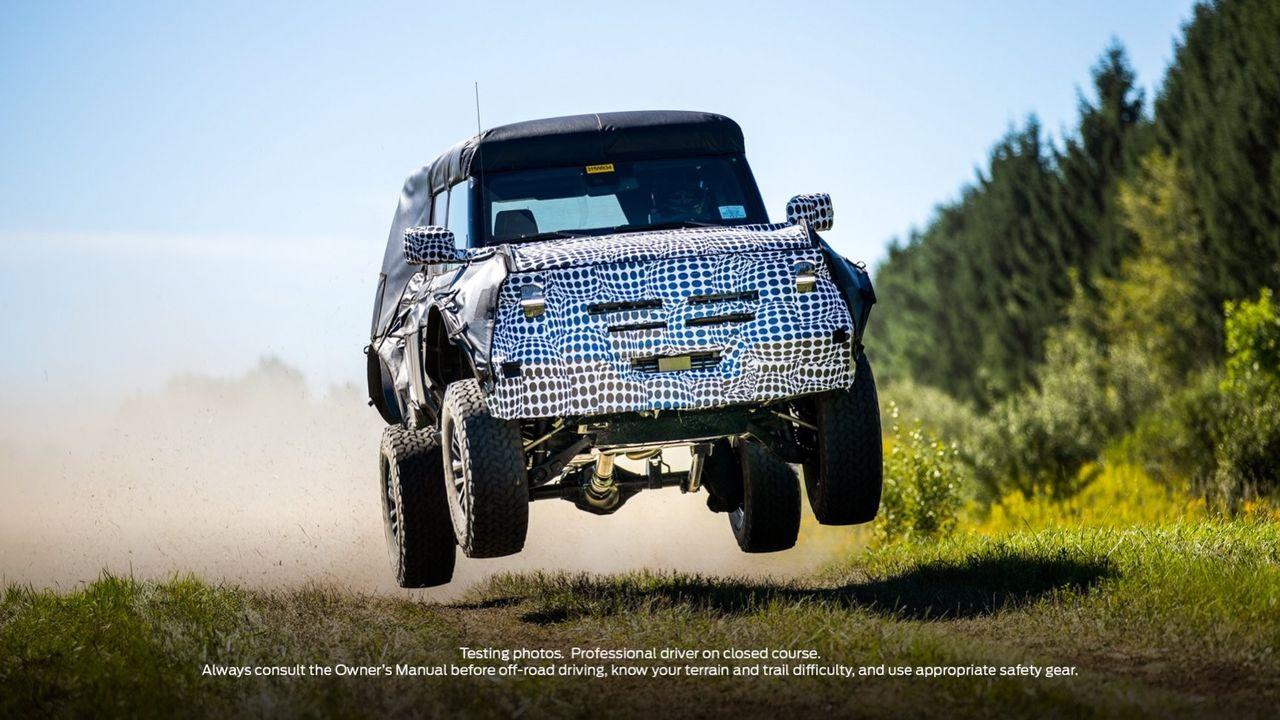 Ford har en mer extrem version av Bronco på gång