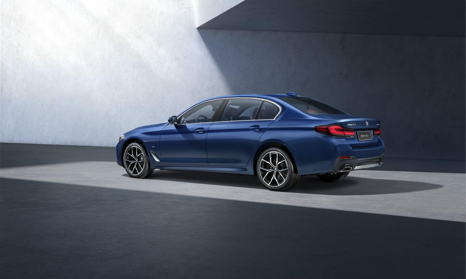 Det här är den långa versionen av nya BMW 5-serie