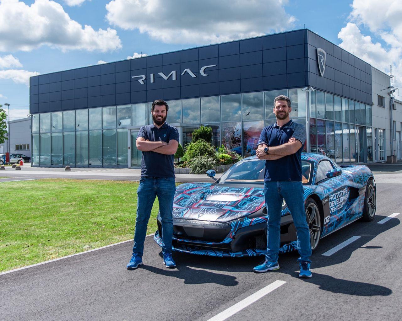 Rimac köper Bugatti