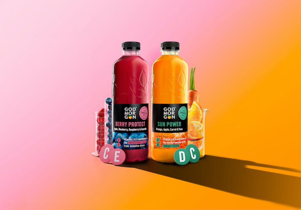 Två nya juicer från God Morgon